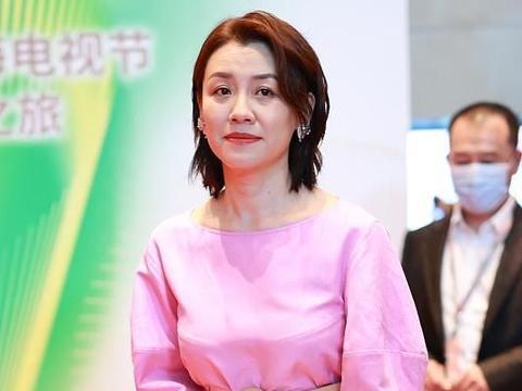 刘琳穿粉裙款式松垮,身材走样太明显 ,脸上皱纹丛生装什么嫩!