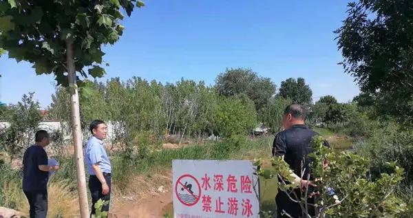 滨州市沾化区泊头学区开展水域安全隐患专项排查活动