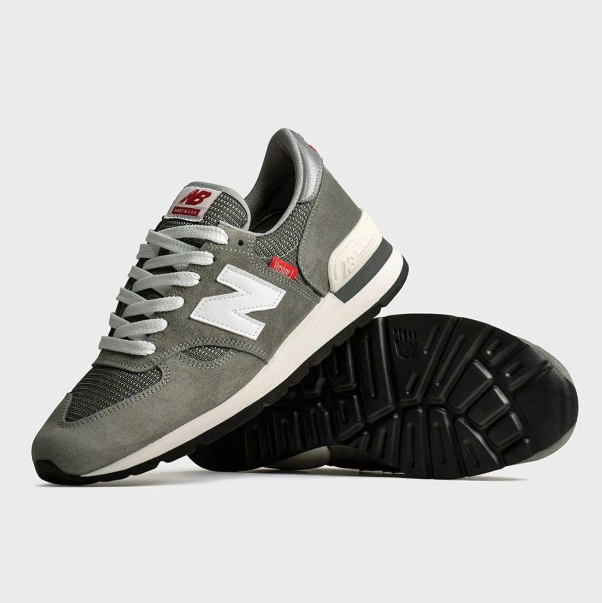 潮鞋速递 | 四十周年预热,NB 990v1 迎来碳灰色纪念版