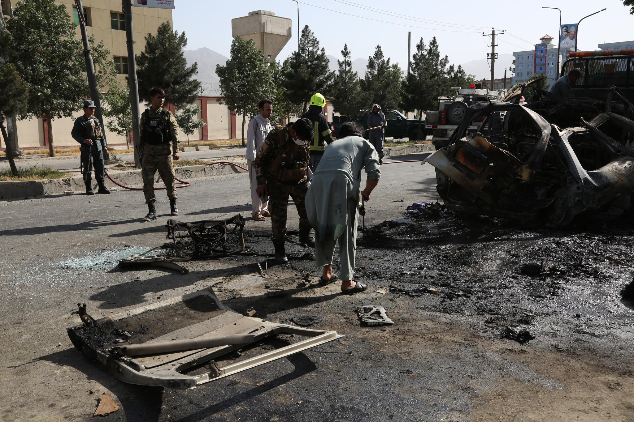 阿富汗首都发生爆炸袭击事件造成7人死亡