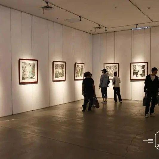 """""""墨韵八方  一带一路 """"国际艺术名家巡展在红场美术馆开展"""