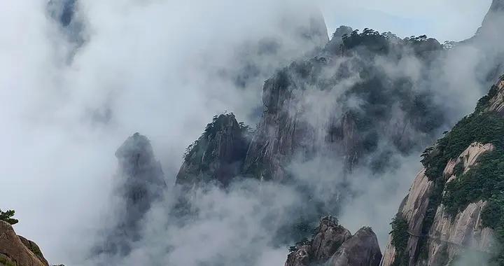 端午假期第一天,黄山风景区共接待游客4600余人