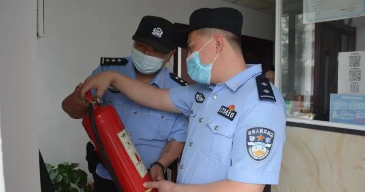 通化边境民警端午节前开展消防安全检查
