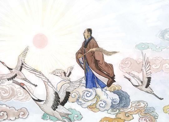 都江堰民间故事:张天师神获钓鱼竿,第一次钓到什么?