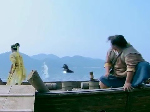 仙剑奇侠传3:霍建华终于到天池,邪剑仙不住呼唤祸建华