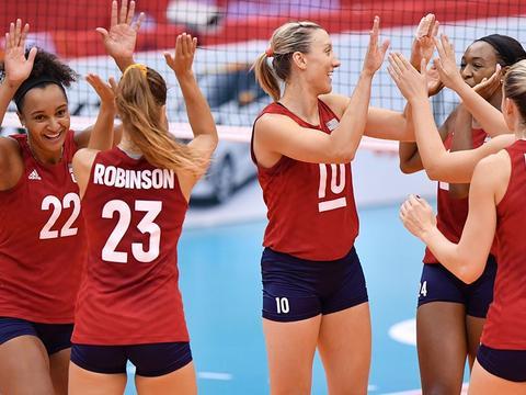 拉尔森领衔 美国女排率先公布奥运名单