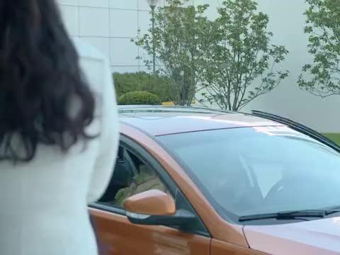 杨坤拿着一束花,来李岚公司门口约她吃饭