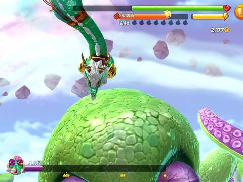 饥饿龙:你用几条龙才能打败这个外星大boss?