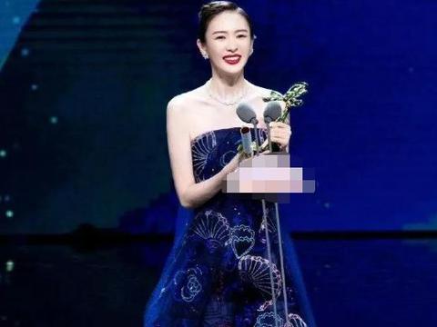 热依扎错失白玉兰最佳女主角奖后,发文晒照感慨,近照美丽动人