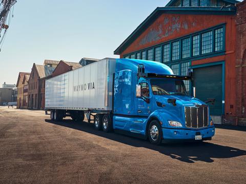 Hunt在得克萨斯州测试自动驾驶卡车