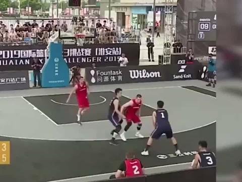 陈培东三人篮球赛强势命中31这样的他你爱了吗?