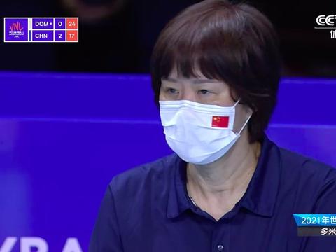 张常宁姚迪出场,中国女排19-25意外落败,朱婷无力回天郎平黑脸