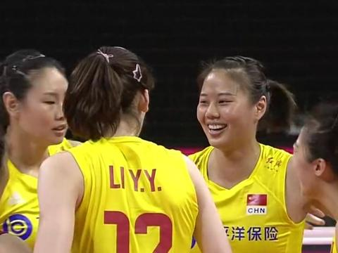 来看看两队个人数据,中国女排1点优势明显