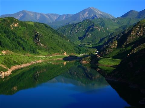 西宁热门旅游景点 鹞子沟国家森林公园 低音号语音导游