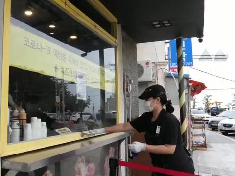 韩国餐厅美味吐司
