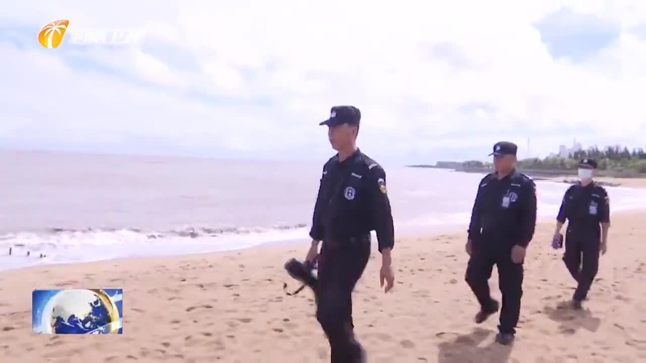 海南加强海岸线巡视 严防汛期溺水