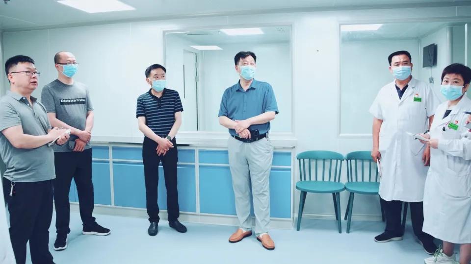 南阳医专一附院召开血液科骨髓移植室建设现场工作推进会