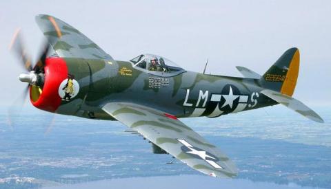 二战时,如果德国空军和美国空军打谁更厉害?