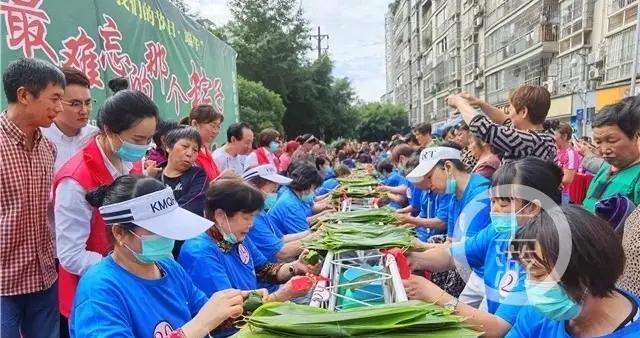 包粽子、做香包、传民俗……江津大街小巷粽叶飘香