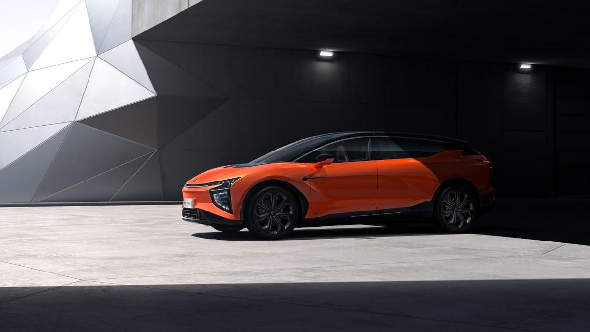 智能豪华电动SUV 高合HiPhi X智能化设计应有尽有