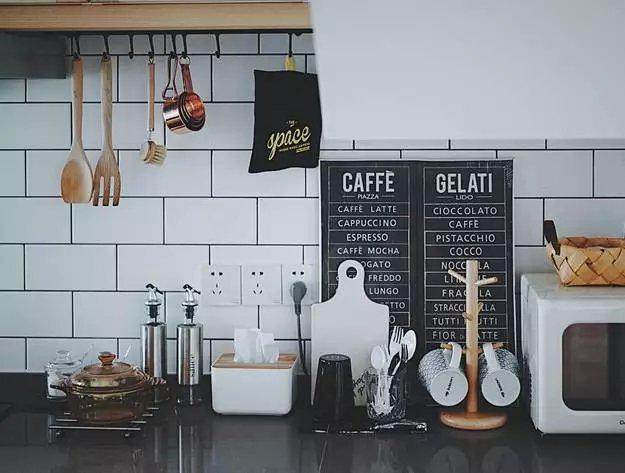 厨房墙面收纳参考