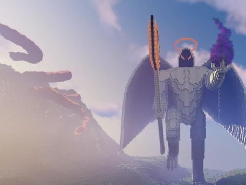 《我的世界》不按套路出牌的天使 翅膀竟然可拆卸?