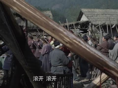 刘复拆老百姓的房子,老百姓聚众反对,都闹出人命了