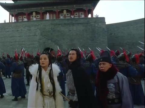 叶孤城闯皇宫,在城墙留下24个字,约剑圣决战紫禁之巅