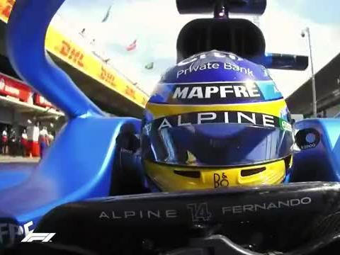 F1 2021 西班牙大奖赛 FP1 精华时刻