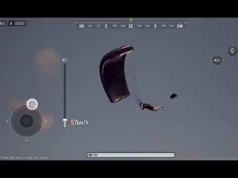 绝地手游2:全程找人钢枪,一把M24连狙三人,手感好到爆!