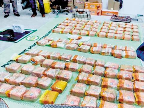 菲媒: 2名中国毒嫌在菲被捕 收缴155公斤毒品