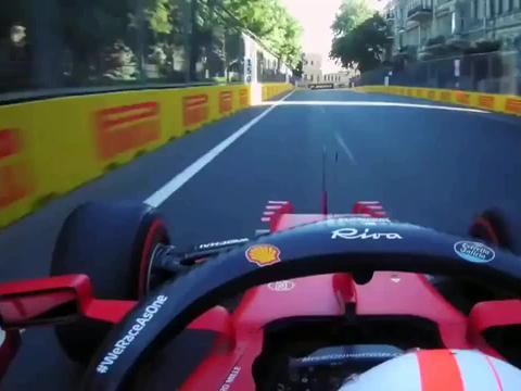 2021年FP2阿塞拜疆大奖赛