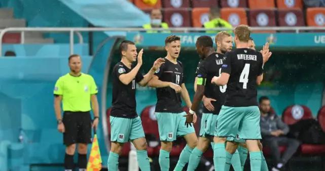奥地利13年终取欧洲杯首胜,打破三大魔咒,轰历史性进球
