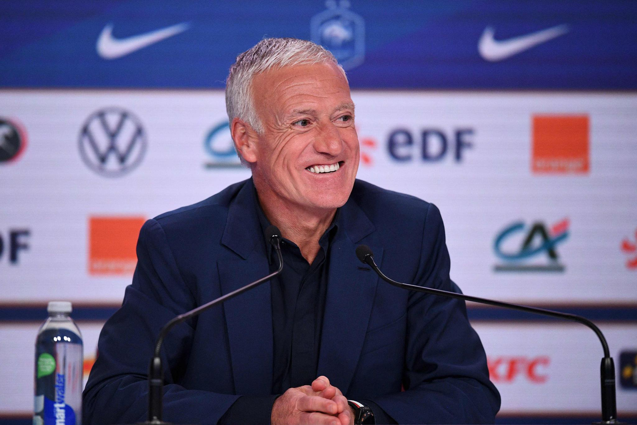 欧锦赛|法国主帅德尚:与德国队的首战重要性堪比决赛