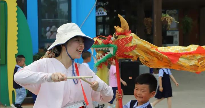 网络中国节丨铜陵乡村幼儿园:开展端午主题活动 感受传统文化