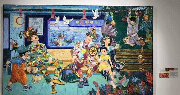 """贴出来的地铁车厢、木制山城……川美2021毕业季""""美术馆奇妙夜""""直播圆满收官"""