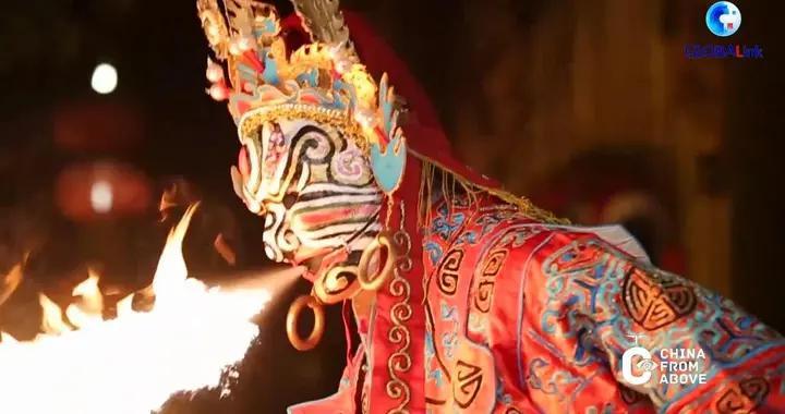 全球连线|(瞰中国·文化和自然遗产日)川剧《白蛇传》