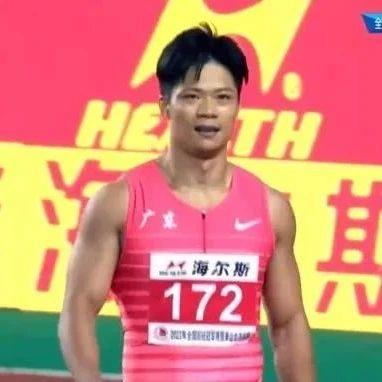 全国田径冠军赛苏炳添第7次跑进10秒大关