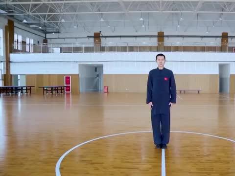 陈氏洪派太极拳演练,山东东营