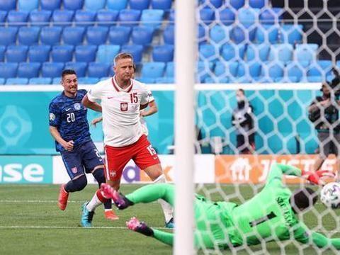 尤文门将自摆乌龙10人波兰1-2不敌斯洛伐克 莱万多夫斯基无能为力