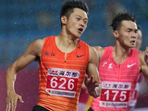 谢震业选拔赛后谈奥运:倾向200米冲决赛 苏炳添超常发挥可夺奖牌
