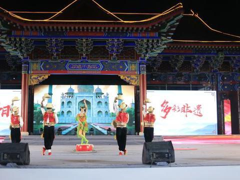 榆林市榆阳区第三届非物质文化遗产节杂技专场惊艳观众