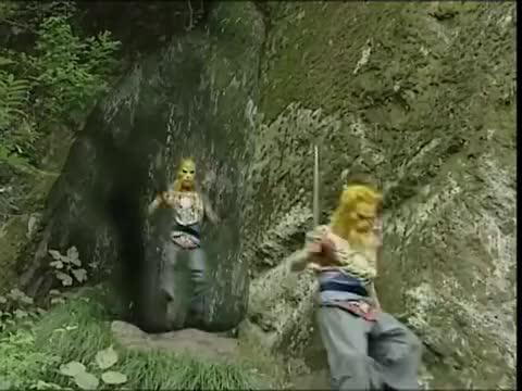 西游记续集:孙悟空大战豹子精,将一根毫毛,吹出千万个小猴崽!
