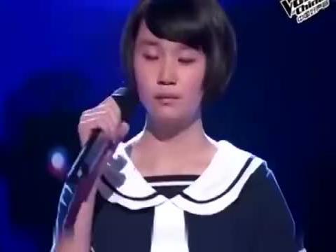 中国好声音:清纯小妹妹一首《火柴天堂》,唱得齐秦怀疑人生!