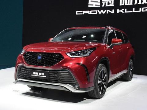 搭载2.5L混动系统 丰田皇冠陆放有望8月上市