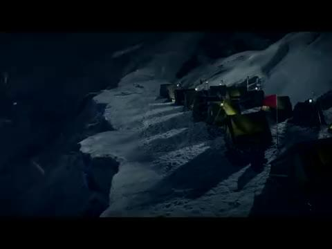 吴京带登山队登珠峰,这天寒地冻的,这就是珠穆朗玛峰的风景吗?
