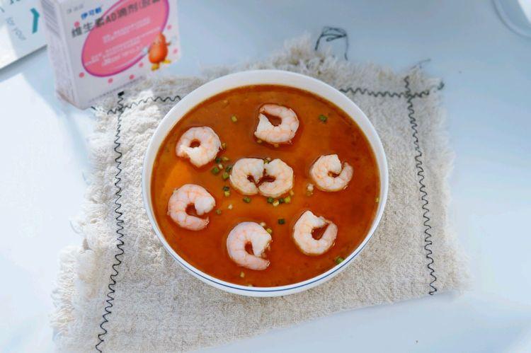 豆腐虾仁蛋羹,美味营养,好吃不贵