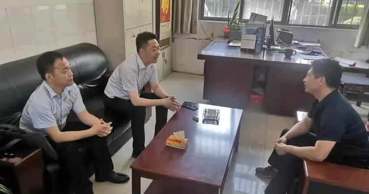 渭南高新区财政局主动上门服务 积极帮扶企业
