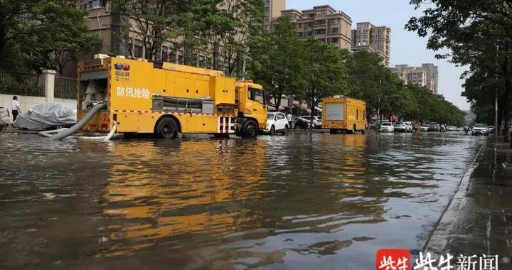 徐州遭遇极端天气,52个乡镇降水量超100毫米