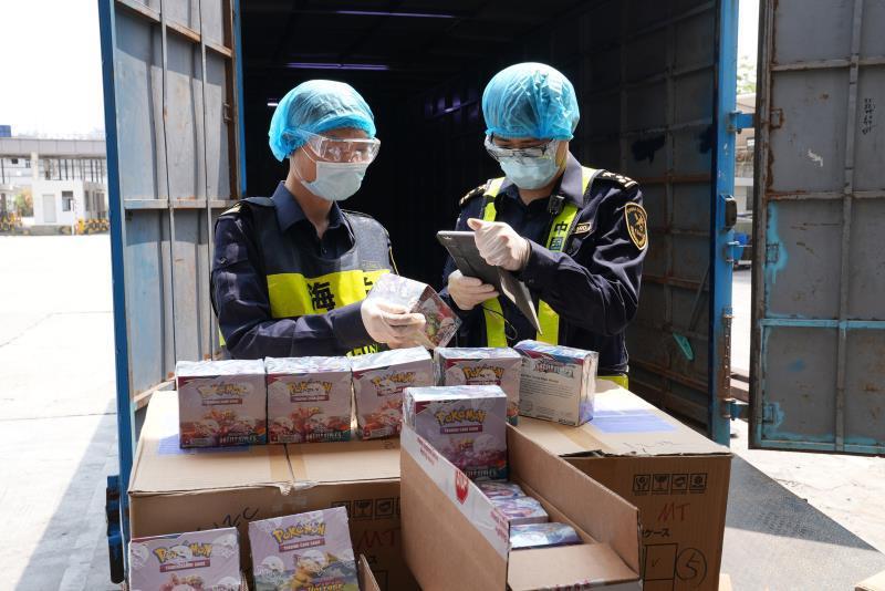 广东海关查获侵权货物超过242.1万件